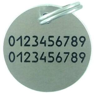 Жетон коло 24 мм алюміній приклад